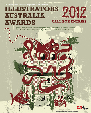 Illustrators Australia Awards 2012 - WINNERS