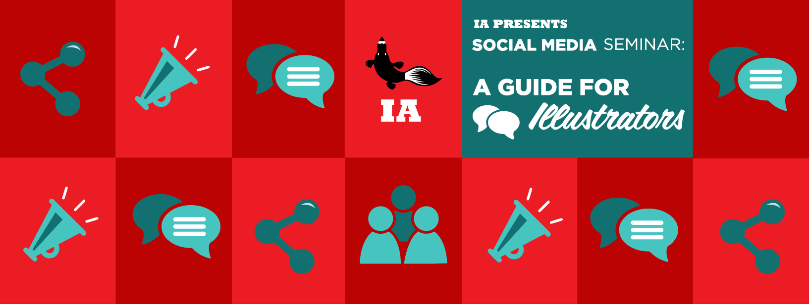 Social Media: A Guide For Illustrators Seminar